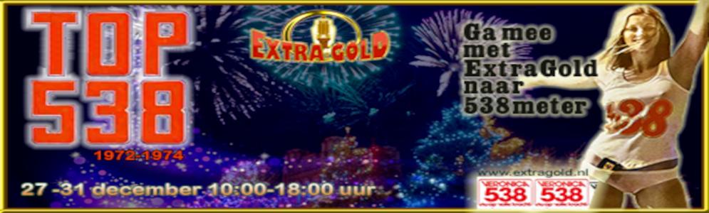 Zondag 27 december start de TOP 538 op Extra Gold
