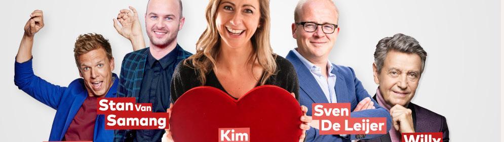 Kim Debrie viert Valentijn met deRadio 2 Valentijn 100