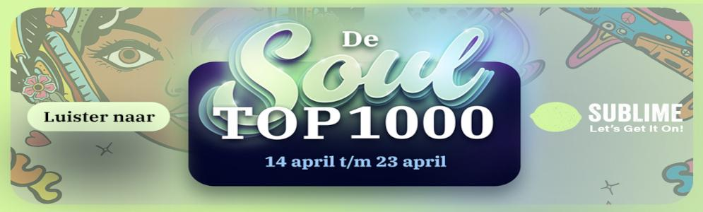 What's Going On van Marvin Gaye op nummer 1 in de Soul Top 1000 van Sublime