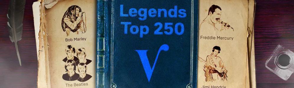 Stem voor de Radio Veronica Legends Top 250