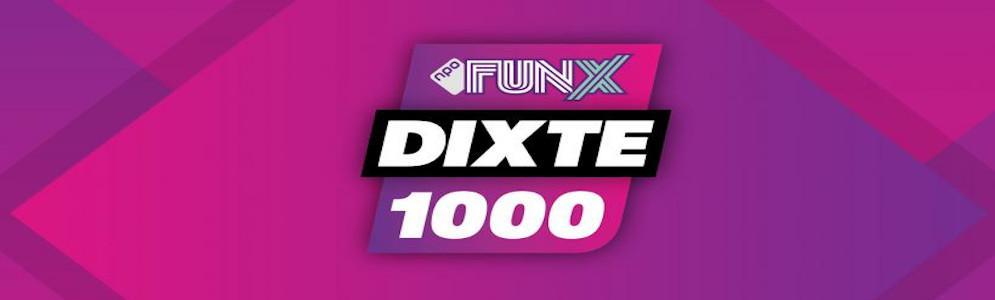 FunX DiXte 1000 vanaf zaterdag te horen