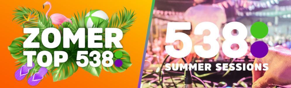 Zomer op 538: speciale hitlijst en 538 Summer Sessions