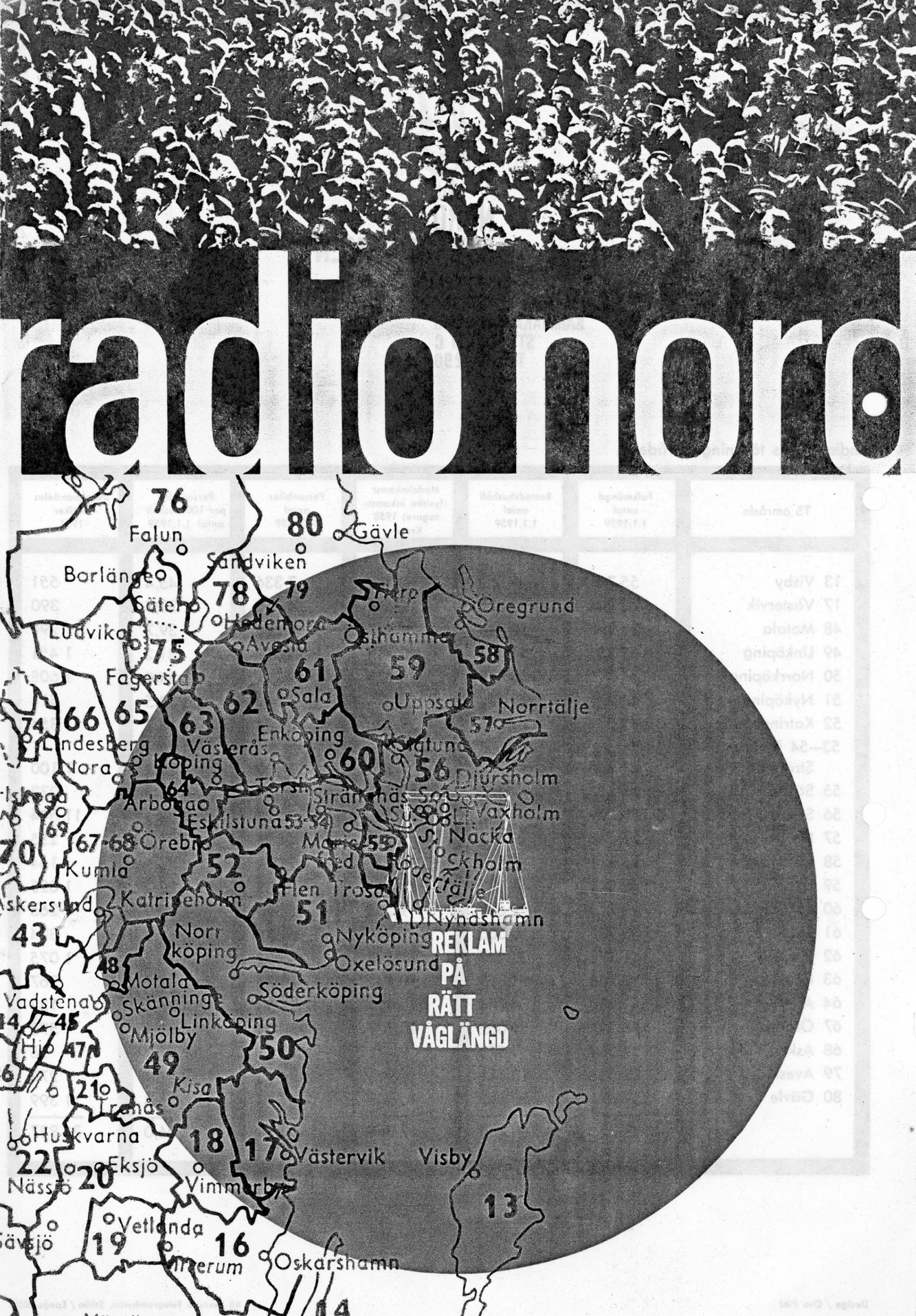 Radio Nord folder