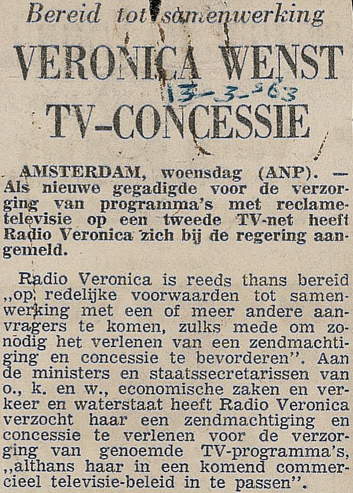 19630313 Tel Veronica wenst TV concessie.jpg