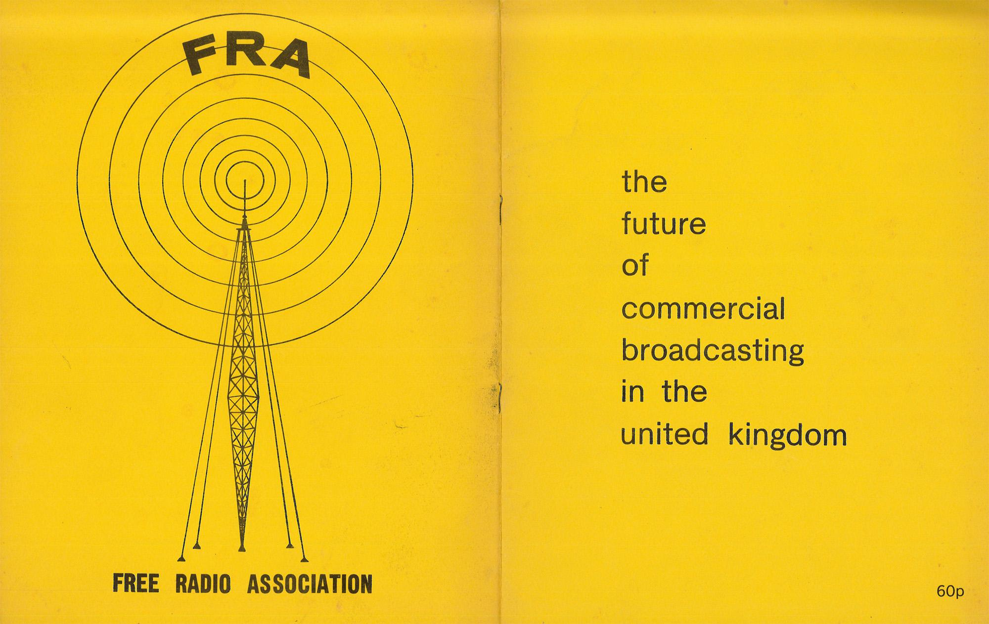 FRA the future of commercial broadcasting in the UK 1970