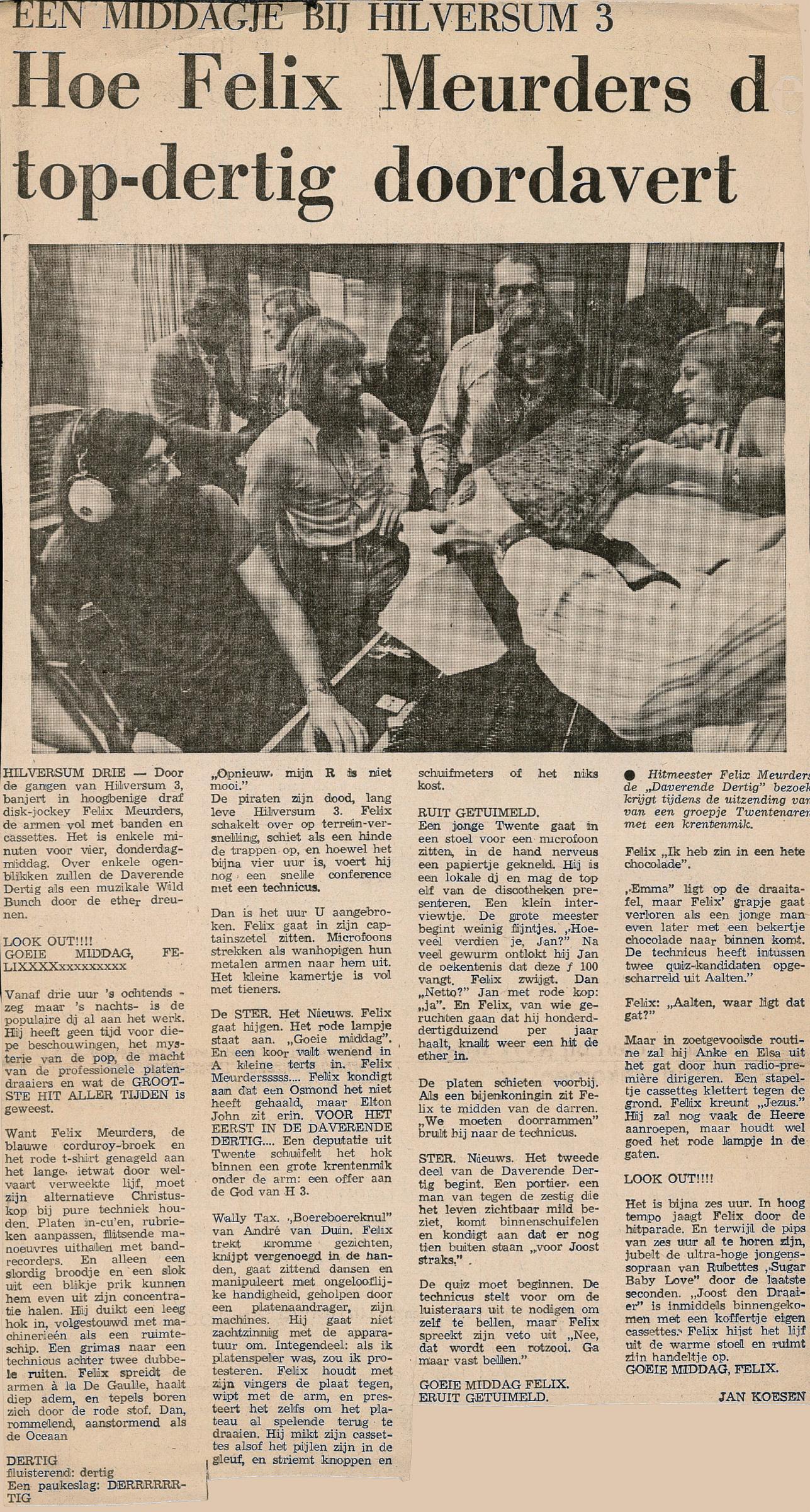 19740621 Hoe Felix Meurders de top dertig doordavert.jpg