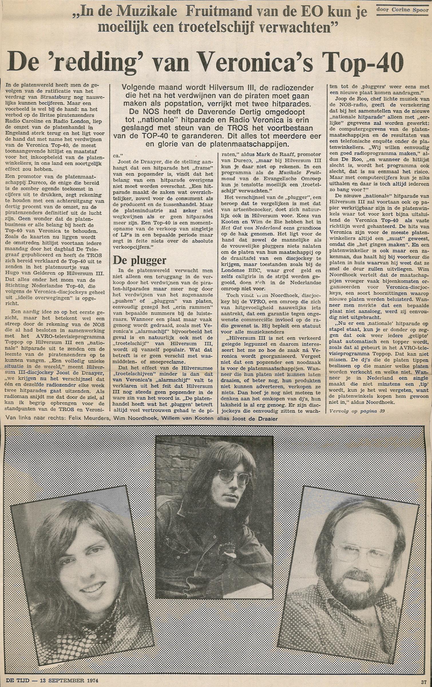 19740913 De Tijd De redding van de Veronica Top 40.jpg